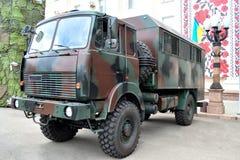 Camion del personale Immagini Stock Libere da Diritti