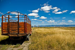 Camion del ranch Fotografie Stock Libere da Diritti