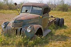 Camion del ranch e dell'azienda agricola di tempo fa Fotografie Stock