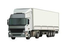Camion del semirimorchio illustrazione vettoriale