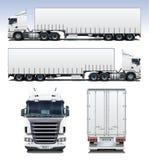 Camion del semirimorchio Fotografia Stock