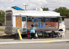 Camion del Taco Fotografia Stock