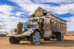 Camion del terreno incolto Immagini Stock Libere da Diritti