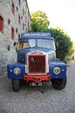 Camion del whisky Immagine Stock