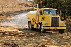 Camion dell'acqua fotografia stock