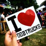 Camion dell'alimento giusto a Città del Messico Immagine Stock