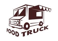 Camion dell'alimento, vettore illustrazione di stock