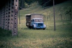 Camion dell'ape Fotografie Stock Libere da Diritti