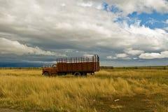 Camion dell'azienda agricola Fotografia Stock Libera da Diritti