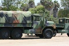Camion dell'esercito Immagine Stock