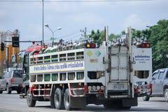 Camion dell'ossigeno di Maeping Fotografia Stock Libera da Diritti