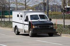 Camion della Banca dell'armatura Fotografia Stock
