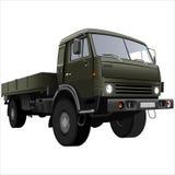 Camion della base piana Fotografie Stock