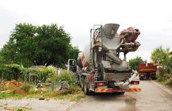 piccolo camion della betoniera immagine stock immagine di costruzione camion 56069805. Black Bedroom Furniture Sets. Home Design Ideas