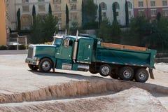 Camion della costruzione Fotografie Stock Libere da Diritti