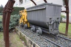 Camion della ferrovia di miniera Fotografia Stock