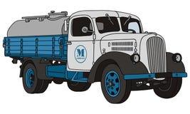 Camion della latteria illustrazione vettoriale