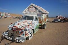 Camion della montagna di salvezza Fotografia Stock