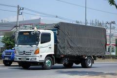 Camion della società di agricoltura di Jiranan Immagini Stock