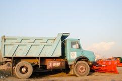 Camion dello spazzaneve Immagine Stock Libera da Diritti
