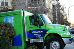 Camion di Alhambra Water Immagine Stock Libera da Diritti