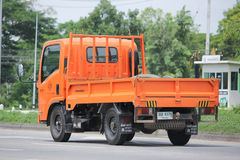 Camion di autorità provinciale di eletricity di Thailands fotografia stock libera da diritti