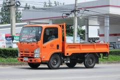 Camion di autorità provinciale di eletricity di Thailands immagini stock