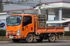 Camion di autorità provinciale di eletricity di Thailands immagine stock libera da diritti