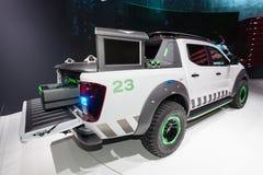 Camion di concetto di Nissan Navara EnGuard Immagine Stock
