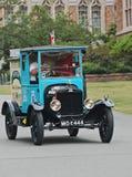Camion di consegna blu del modello T dalla Gran Bretagna Immagini Stock Libere da Diritti