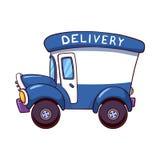 Camion di consegna del fumetto Immagini Stock