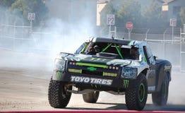 Camion di energia del mostro Fotografie Stock Libere da Diritti