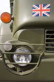 Camion di esercito britannico Fotografie Stock