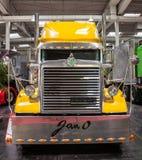Camion di esposizione di Peterbilt Fotografia Stock Libera da Diritti