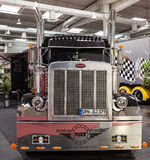 Camion di esposizione di Peterbilt Immagini Stock Libere da Diritti