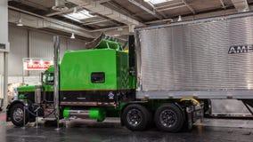 Camion di esposizione di Peterbilt Fotografie Stock