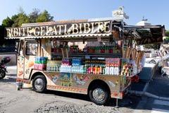 Camion di Gelati Fotografia Stock Libera da Diritti