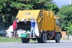 Camion di immondizia Fotografia Stock