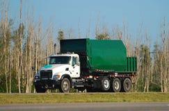 Camion di immondizia Immagine Stock