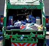 Camion di immondizia Immagine Stock Libera da Diritti