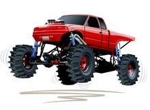Camion di mostro Immagine Stock