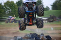 Camion di mostro Fotografie Stock Libere da Diritti