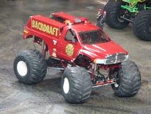 camion di mostro del backdraft Fotografia Stock