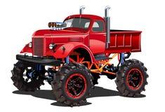 Camion di mostro del fumetto illustrazione vettoriale