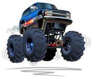 Camion di mostro del fumetto Immagini Stock
