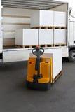 Camion di pallet Immagini Stock