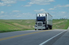 Camion di Peterbilt immagini stock libere da diritti