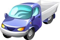Camion di raccolta del fumetto illustrazione vettoriale