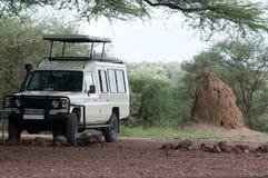 Camion di safari Immagini Stock Libere da Diritti