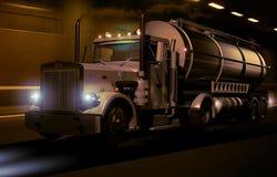 Camion di serbatoio Fotografie Stock